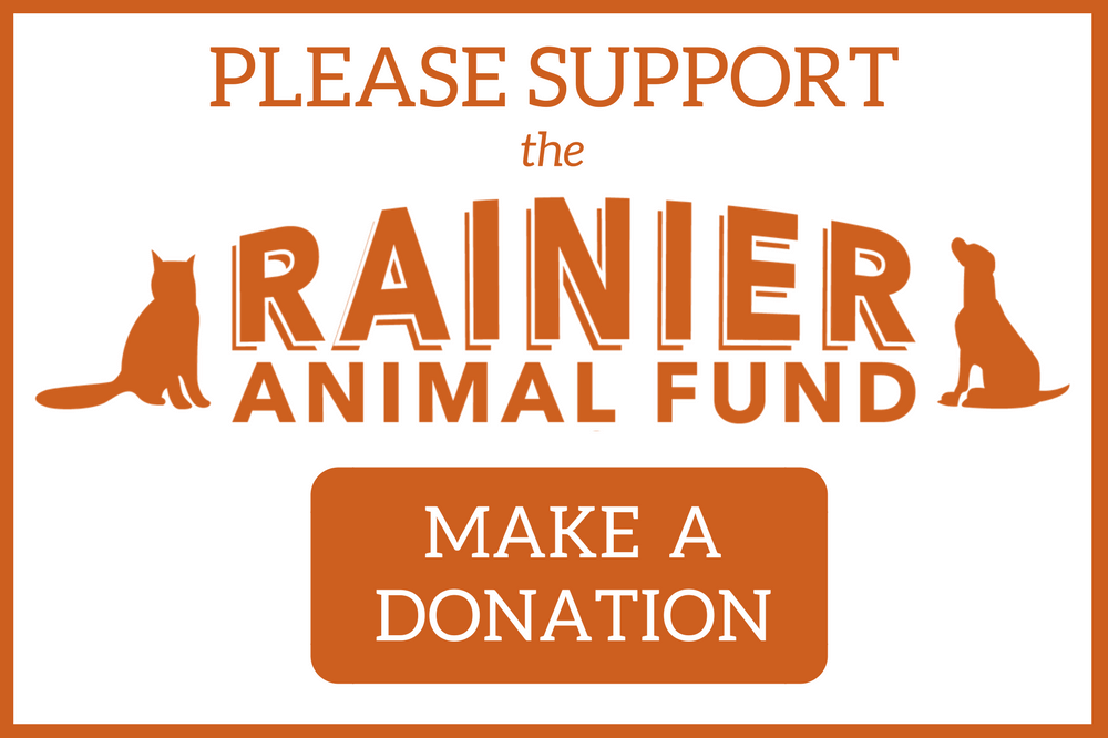 Support the Rainier Animal Fund: Helping Abused, Neglected, and Homeless Animals in Seattle